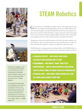 STEAM Robotics flyer