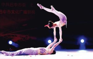Chinese Acrobats 1