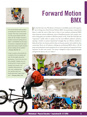 Forward Motion BMX flyer