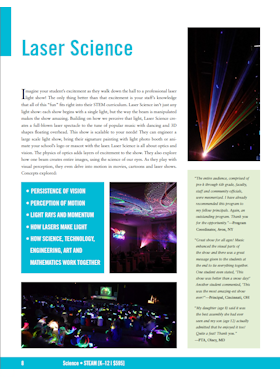 Laser Science flyer