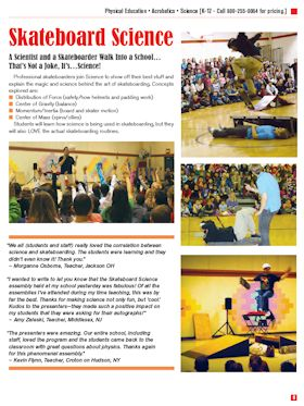Skateboard Science flyer