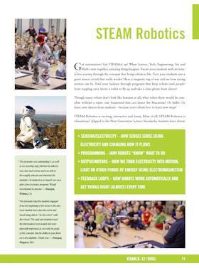 STEAM Robotics flyer